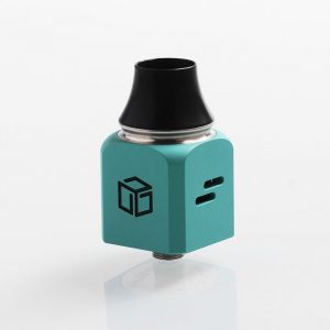 authentic-wotofo-atty-cubed-rda-rebuildable-dripping-atomizer-tiffany-blue-stainless-steel-22mm-diameter