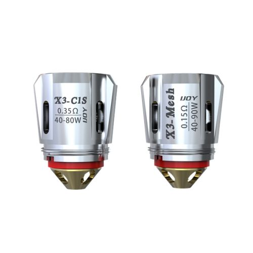 IJOY AVENGER SUB OHM TANK COILS (Pack of 3)
