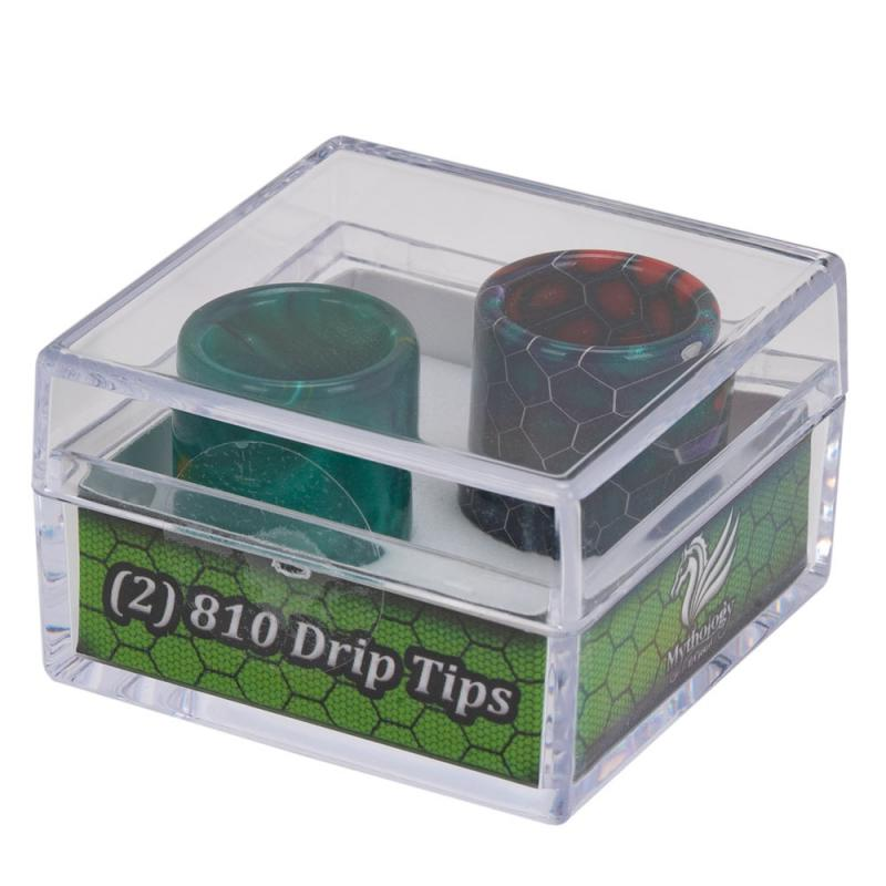 810 Drip Tips by Mythology E-Cloud (2pk)