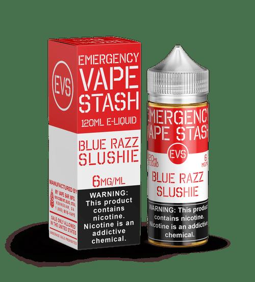 BLUE RAZZ SLUSHIE 120ML BY Emergency Vape Stash