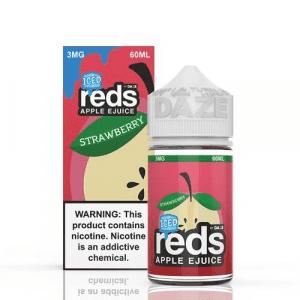 Reds Ice Apple Juice 60ml by 7 Daze E Liquid