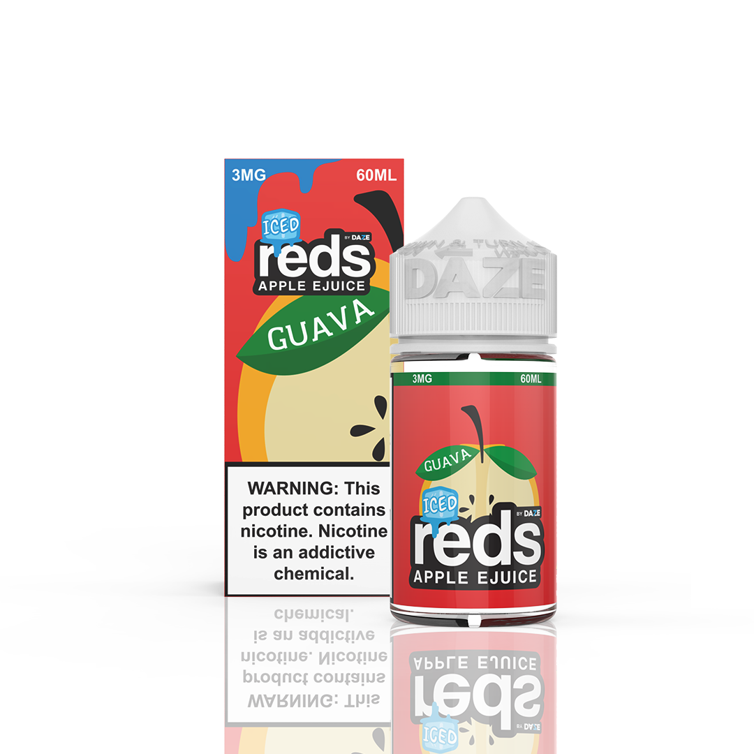 Reds Strawberry Apple Juice 60ml by 7 Daze E Liquid