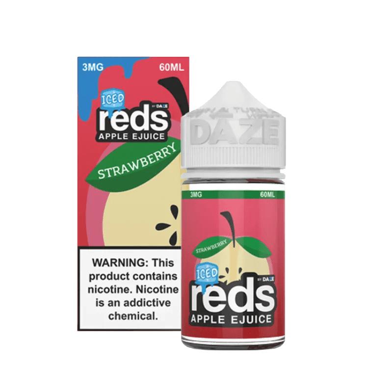 Reds Berries iced Juice 60ml by 7 Daze E Liquid