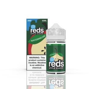 Reds Strawberry Iced Juice 60ml by 7 Daze E Liquid