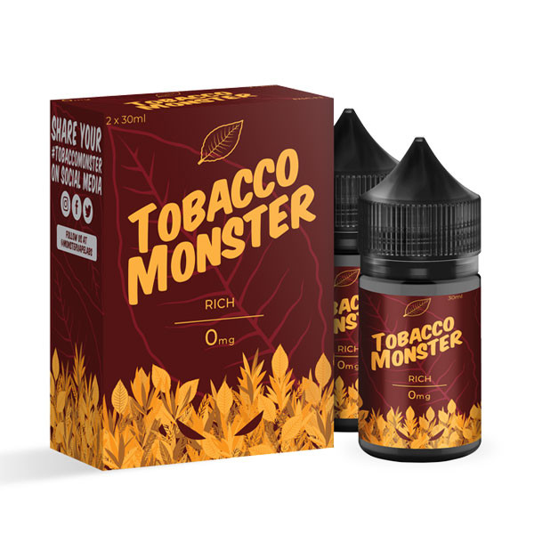 Bold Tobacco 60ml By Tobacco Monster (2 Pack)