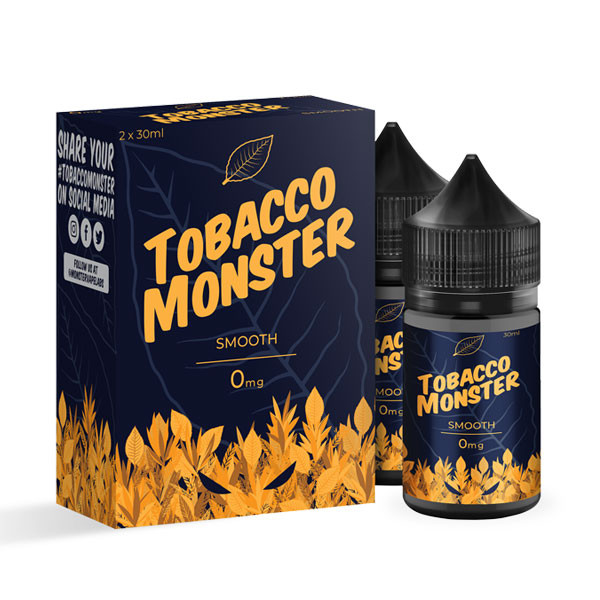 Rich Tobacco 60ml By Tobacco Monster (2 Pack)