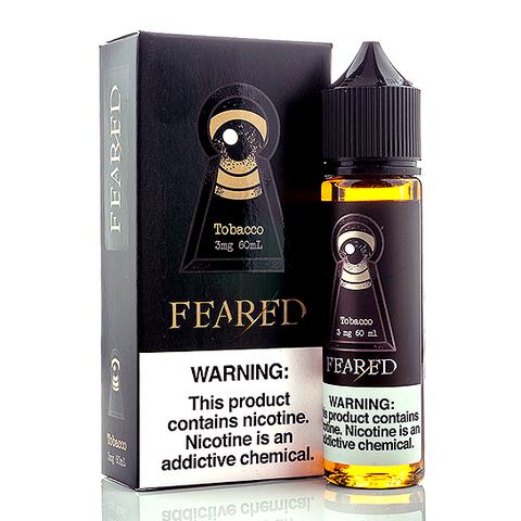 TOBACCO 60ml by FEARED E-JUICE (No Nicotine)
