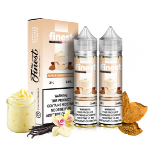 Vanilla Almond Custard 120ml by The Finest E-Liquids