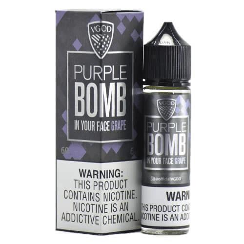 Purple Bomb 60ML by VGOD (No Nicotine)